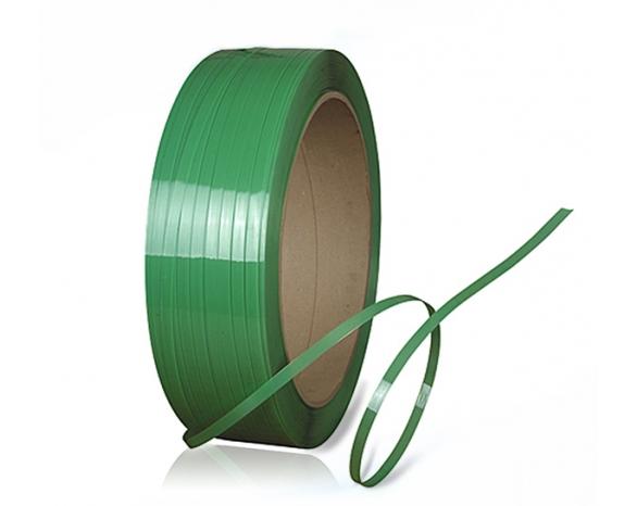 Лента ПП 16 х 1.0 мм – 1.1 км (зелена) Ø 200 мм для напівавтоматів -