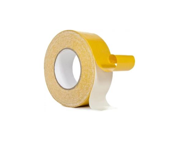 Скотч двухсторонний тканевый 80221WY Clothe Tape (38ммх5м) 220 мкм -