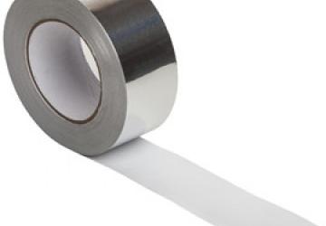 Скотч алюминиевый 60041S (48ммх10м) 40 мкм