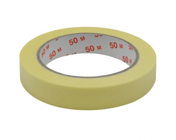 Скотч малярный 10101(24ммх50м) 140 мкм, желтая -
