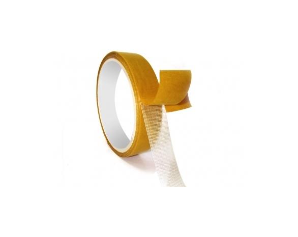 Скотч двухсторонний тканевый 70091CW Tissue Tape (24ммх10м) 90 мкм -