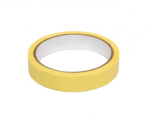 Скотч малярный 10141 (19ммх20м) 140 мкм, желтая -