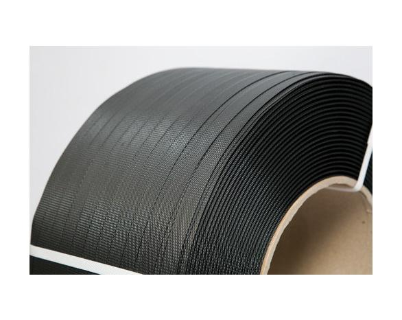 Лента ПП 16 х 0.6 мм – 2,0 км (чорна) Ø 200 мм для напівавтоматів -