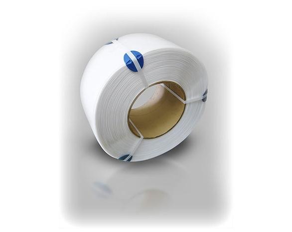 Лента ПП 5 х 0.55 мм – 7,0 км (біла) Ø 200 мм для автоматів -