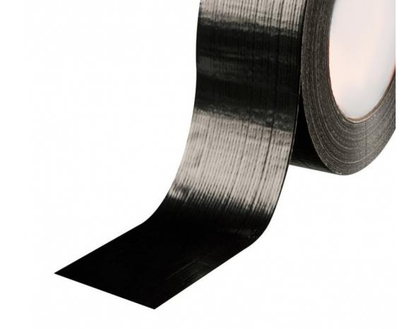 Скотч армированный 20171 B(48ммх10м) 170 мкм, черная -