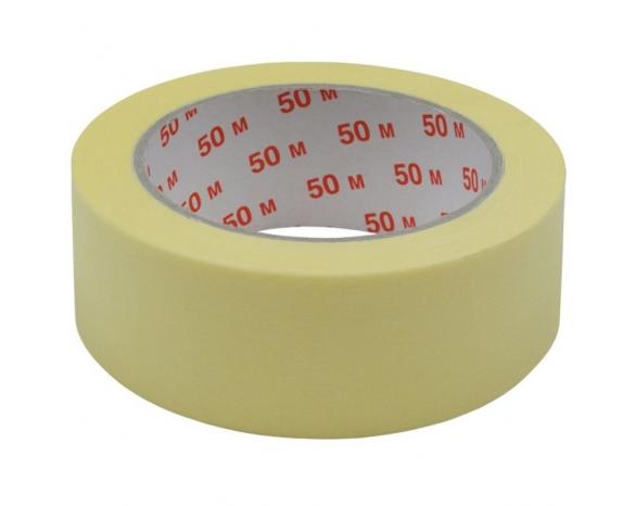 Скотч малярный 10101(48ммх50м) 140 мкм, желтая -