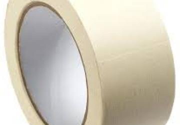 Скотч малярный 10101(БЛ, 48ммх50м) 140 мкм, белая
