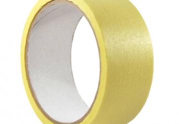 Скотч малярный 10141 (30ммх20м) 140 мкм, желтая