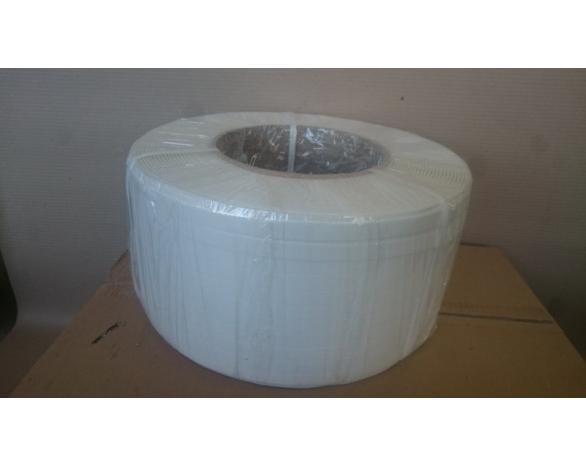 Лента ПП 16мм х 0.8 мм – 1.5 км (біла) Ø 200мм для напівавтоматів -