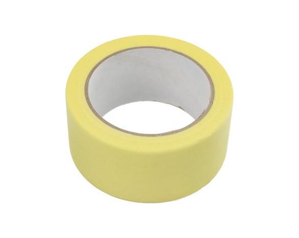 Скотч малярный 10141 (38ммх20м) 140 мкм, желтая -