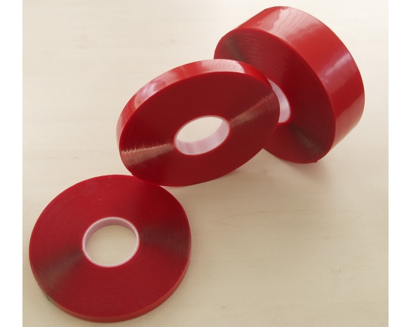 Скотч двухсторонний пеноакрил 51002 CR (15ммх2м) 1мм -