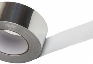 Скотч алюминиевый 60041S (48ммх5м) 40 мкм
