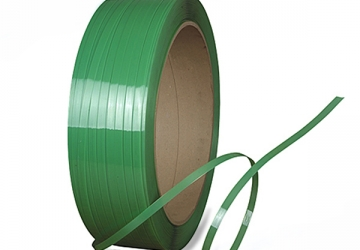 Лента ПП 12 х 0.6 мм – 3.0км (зелена) Ø 200 мм для напівавтоматів