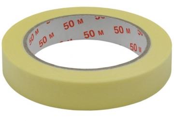 Скотч малярный 10101(24ммх50м) 140 мкм, желтая