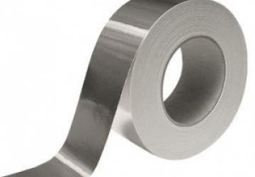Скотч алюминиевый 60041S (48ммх50м) 40 мкм