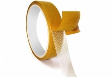 Скотч двухсторонний тканевый 70091CW Tissue Tape (24ммх10м) 90 мкм