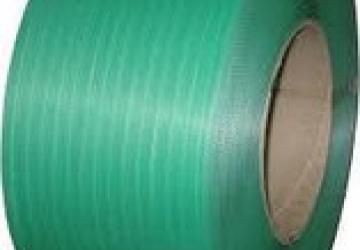 Лента ПП 9 х 0.55 мм – 4,0 км (зелена) Ø 200 мм для напівавтоматів